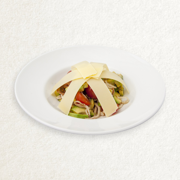 Цезарь салат с креветками 2